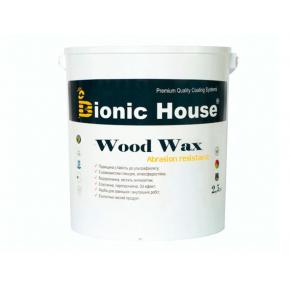 Акриловая эмульсия с воском Wood Wax Bionic House (бесцветная) - изображение 3 - интернет-магазин tricolor.com.ua