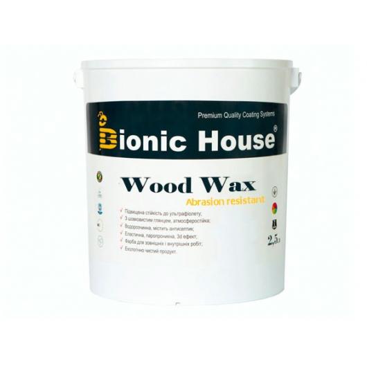 Акриловая эмульсия с воском Wood Wax Bionic House (шоколад) - изображение 2 - интернет-магазин tricolor.com.ua
