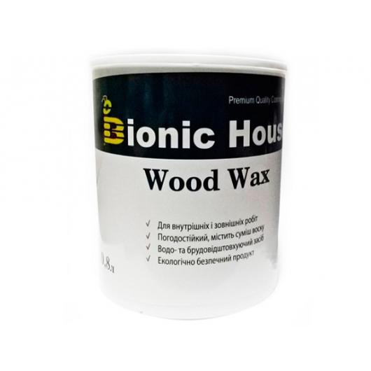 Акриловая эмульсия с воском Wood Wax Bionic House (миндаль) - интернет-магазин tricolor.com.ua