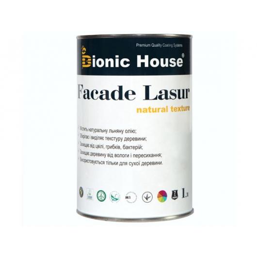 Лазурь с маслом для фасадов Facade Lasur Bionic House (черный) - интернет-магазин tricolor.com.ua