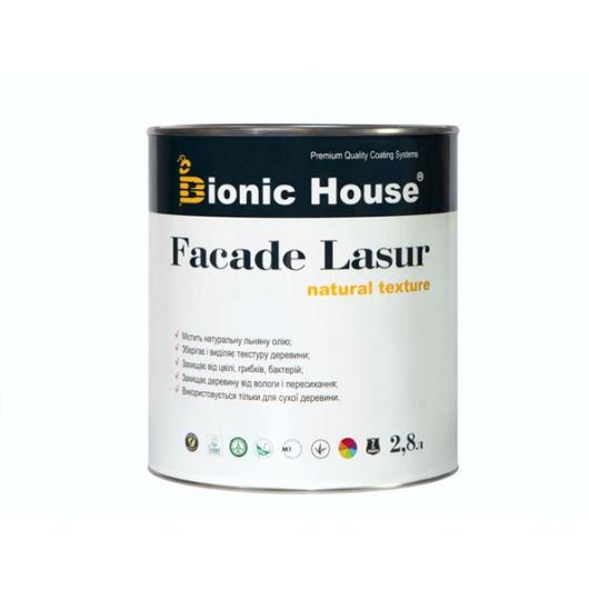 Лазурь с маслом для фасадов Facade Lasur Bionic House (черный) - изображение 2 - интернет-магазин tricolor.com.ua