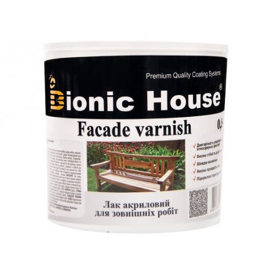 Лак водный для наружных работ Bionic House (глянец) - интернет-магазин tricolor.com.ua