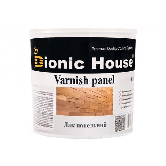 Лак панельный акриловый Bionic House полуматовый прозрачный - интернет-магазин tricolor.com.ua