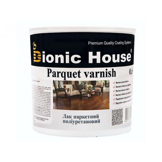 Лак паркетный ультрастойкий Joncryl Bionic House (глянец) - интернет-магазин tricolor.com.ua