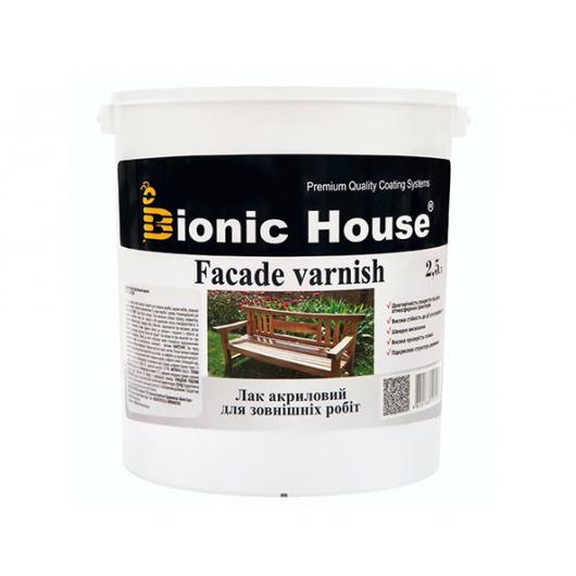 Лак водный для наружных работ Joncryl Bionic House (глянец) - интернет-магазин tricolor.com.ua