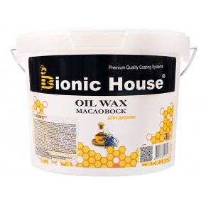 Масло-воск для дерева с пчелиным воском Bionic House - изображение 2 - интернет-магазин tricolor.com.ua