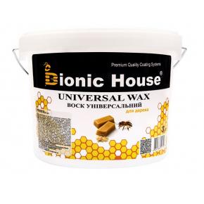 Воск для дерева универсальный пчелиный Bionic House - изображение 2 - интернет-магазин tricolor.com.ua