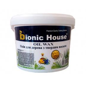 Масло-воск для дерева с карнаубским воском Bionic House - интернет-магазин tricolor.com.ua