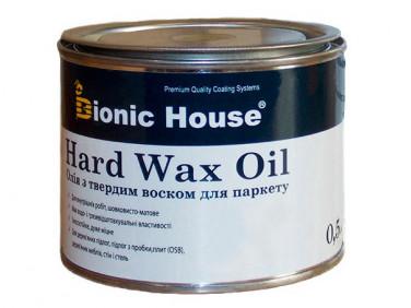 Масло для пола Hard Wax Oil Bionic House (колерованное)