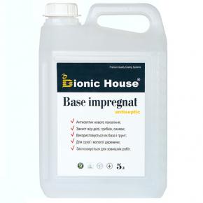 Антисептик для дерева Base Impregnat Bionic House для наружных работ - интернет-магазин tricolor.com.ua