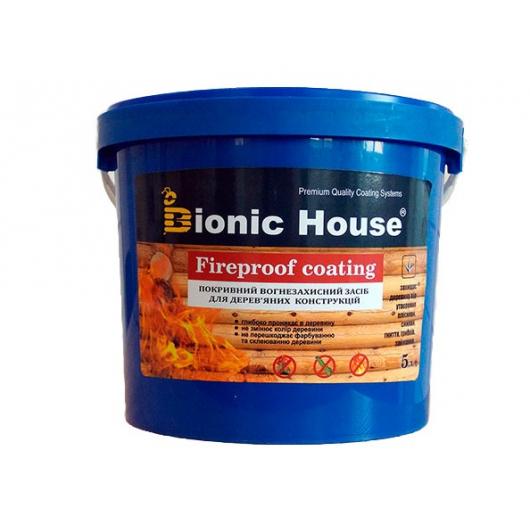 Огнебиозащитная краска Bionic House Fireproof coating для дерева - интернет-магазин tricolor.com.ua