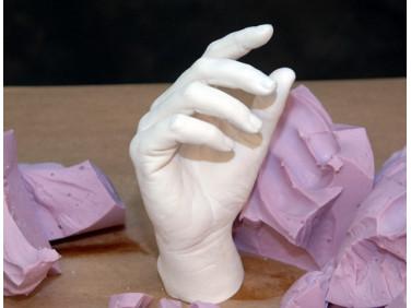 Масса для снятия слепков и оттисков с частей тела