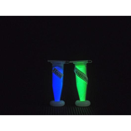 Набор из 2х люминесцентных красителей Люминофоров по 1г для Полиморфуса - интернет-магазин tricolor.com.ua
