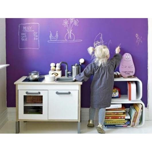Краска для школьных досок водорастворимая Лииту Tikkurila Liitu белая - изображение 3 - интернет-магазин tricolor.com.ua