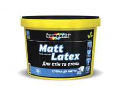 Краска интерьерная MATT LATEX Kompozit - изображение 2 - интернет-магазин tricolor.com.ua