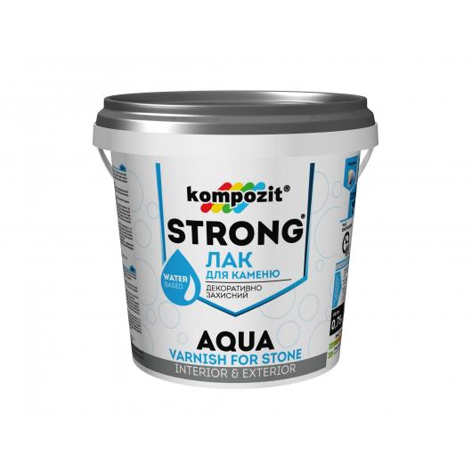 Лак для камня Strong Aqua Kompozit - интернет-магазин tricolor.com.ua