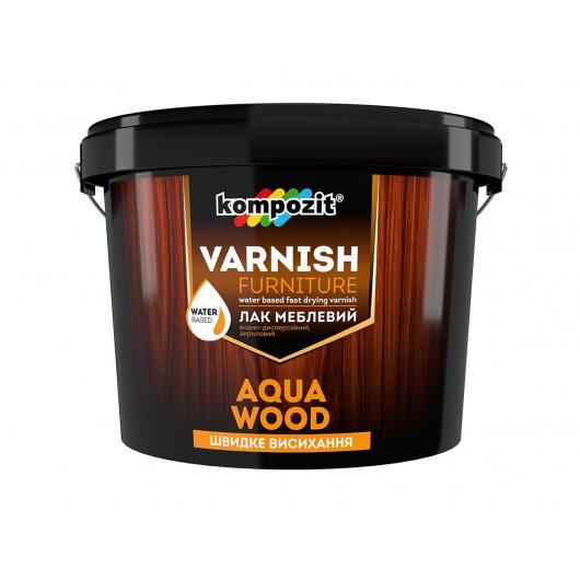 Лак мебельный Aqua Wood Kompozit матовый