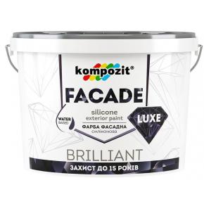 Краска фасадная силиконовая Facade Luxe Kompozit прозрачная