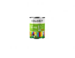 Эмаль ПФ-115 Kolorit светло-серая - изображение 2 - интернет-магазин tricolor.com.ua