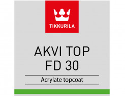 Купить Краска акрилатная Akvi Top FD 30 Tikkurila белая - 2