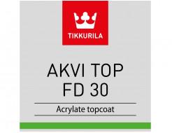 Купить Краска акрилатная Akvi Top FD 30 Tikkurila прозрачная - 3