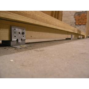 Крепление Vibrofix Floor для плавающего пола на лагах (жилые и общ. помещения) - изображение 2 - интернет-магазин tricolor.com.ua