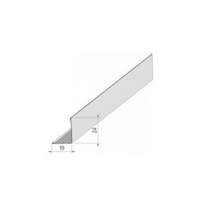 Пристенный уголок AMF L19/24-3000 белый