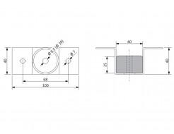 Крепление потолочное антивибрационное Vibrofix Techno 55 - изображение 2 - интернет-магазин tricolor.com.ua