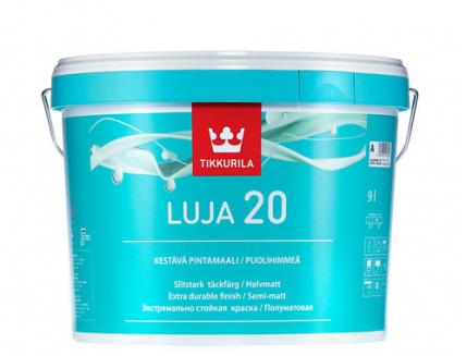 Краска стойкая покрывная Луя 20 Tikkurila LUJA 20 полуматовая