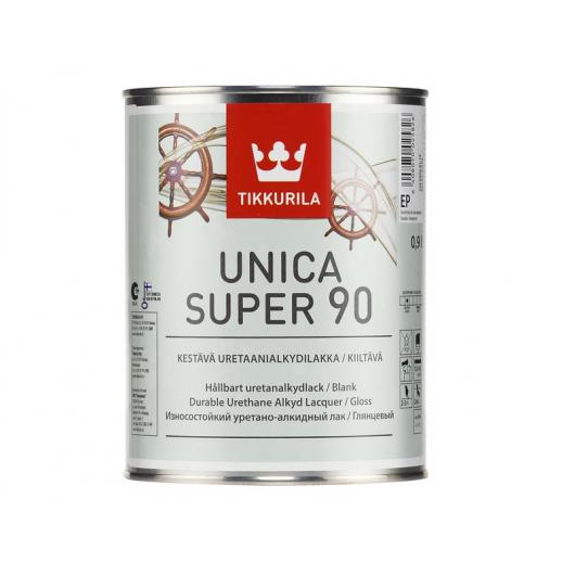 Лак уретано-алкидный износостойкий Уника Супер Tikkurila глянцевый