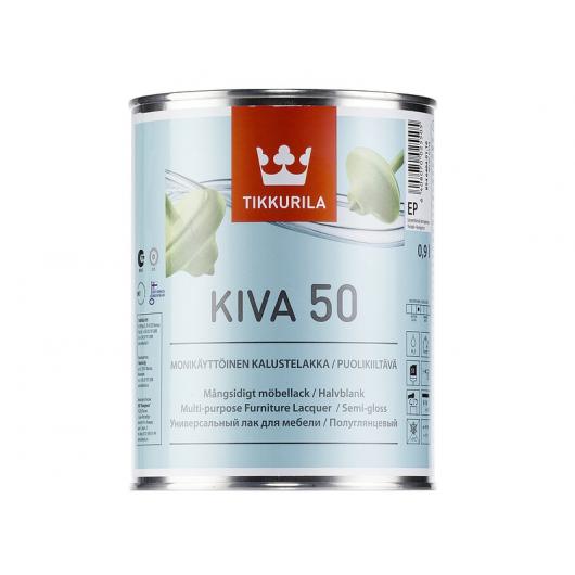 Лак для мебели Кива Tikkurila KIVA полуглянцевый