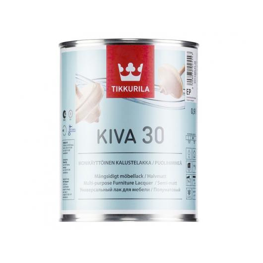 Лак для мебели Кива Tikkurila KIVA полуматовый