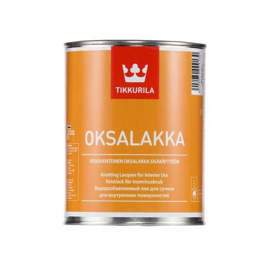 Лак для обработки сучков Оксалакка Tikkurila OKSALAKA