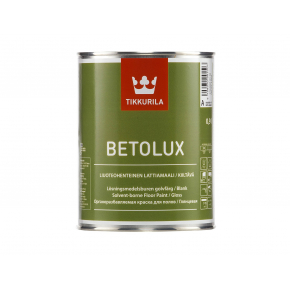 Краска для бетонных и деревянных полов Бетолюкс Tikkurila BETOLUX белая