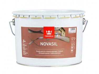 Краска фасадная силикономодифицированная Новасил Tikkurila NOVASIL