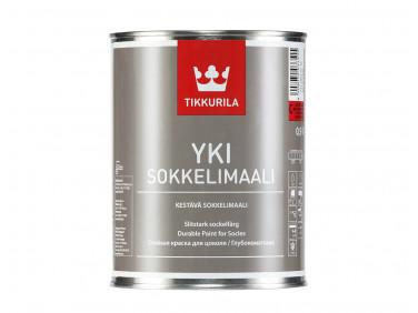 Краска для цоколя Юки Tikkurila YKI белая