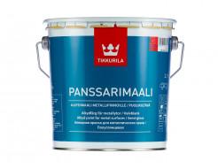 Краска алкидная для металлических крыш Панссаримаали Tikkurila PANSSARIMAALI прозрачная - изображение 2 - интернет-магазин tricolor.com.ua
