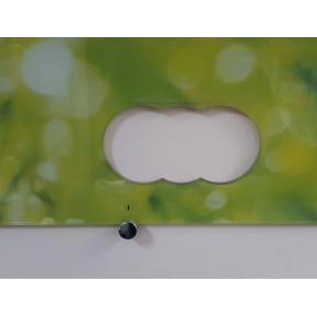 Кухонный фартук из стекла фотопечать с вырезом под 2 розетки - изображение 2 - интернет-магазин tricolor.com.ua