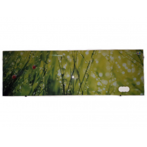 Кухонный фартук из стекла фотопечать с вырезом под 2 розетки - интернет-магазин tricolor.com.ua