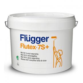 Краска латексная Flugger Flutex 7S+ (Base 4) прозрачная