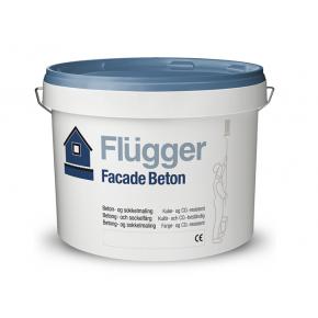 Краска латексная для фасадов и цоколей Flugger Facade Beton (Base 4) прозрачная