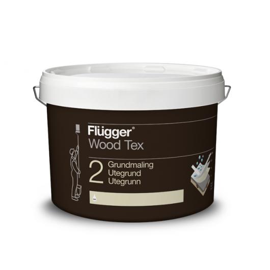 Краска грунтовочная Flugger Wood Tex Primer Vit белая