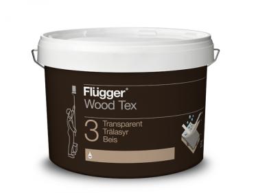 Финишная пропитка Flugger Wood Tex Transparent (Base 11) прозрачная с бурым оттенком