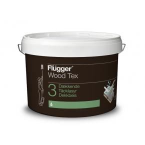 Кроющая пропитка Flugger Wood Tex Opaque (Base 3) полупрозрачная