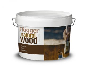 Морилка акриловая Flugger Natural Wood Stain (Base 10) бесцветная