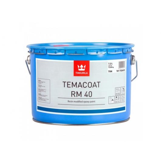 Краска эпоксидная 2К А Темакоут РМ 40 Tikkurila Temacoat RM 40 белая TVH