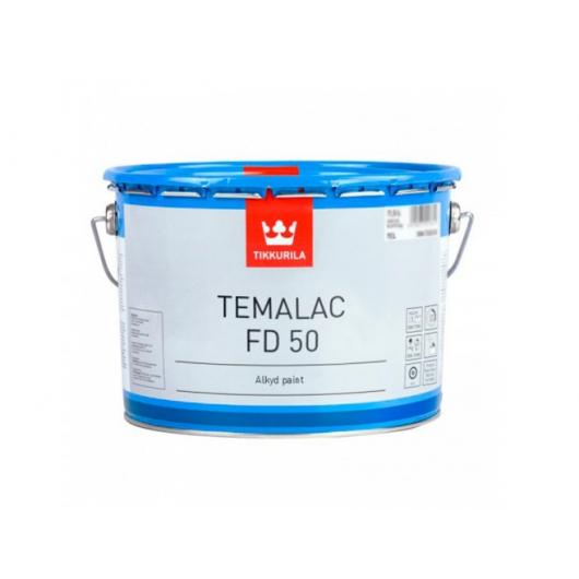 Краска органорастворимая Темалак ФД 50 Tikkurila Temalac FD 50 белая TVL