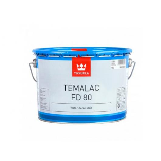 Краска органорастворимая Темалак ФД 80 Tikkurila Temalac FD 80 прозрачная TCL