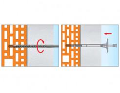 Дюбель для теплоизоляции с пластиковым гвоздем Стандарт ST-PL10х180 - изображение 4 - интернет-магазин tricolor.com.ua