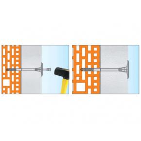 Дюбель для теплоизоляции с пластиковым гвоздем Стандарт ST-PL10х180 - изображение 5 - интернет-магазин tricolor.com.ua